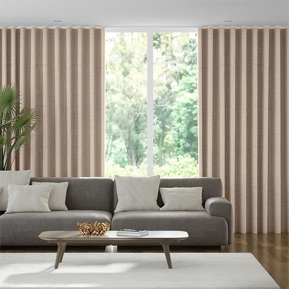 Wave Amore Sandstone Curtains