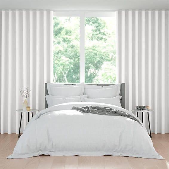 Wave Angelo Alabaster Curtains