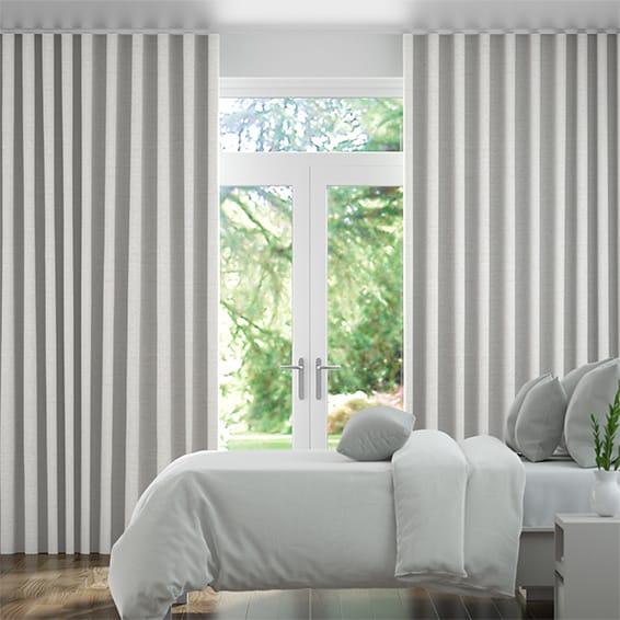 Wave Ansari Platinum Curtains