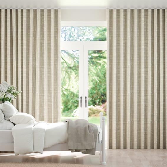 Wave Apollo Spun Gold Curtains
