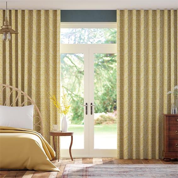 Wave Armeria Honey Curtains