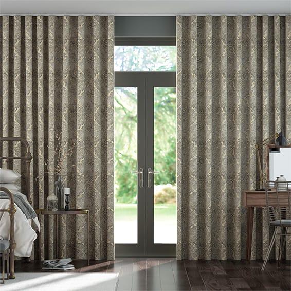 Aurelia Onyx Wave Curtains