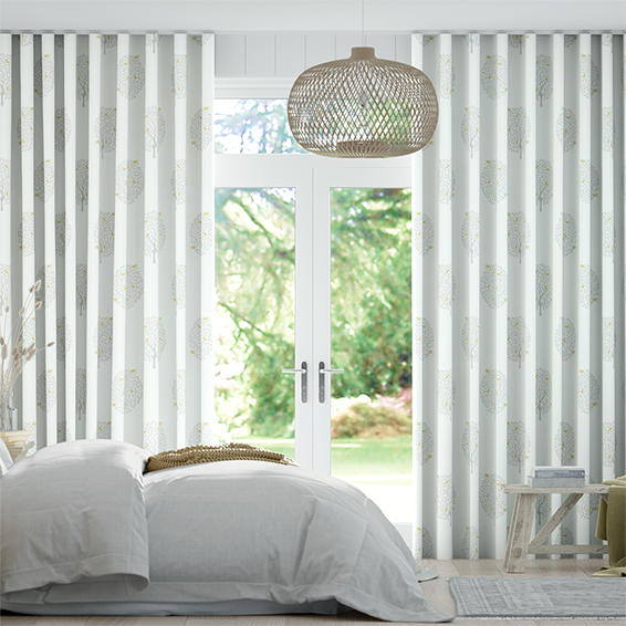 Wave Bay Tree Dove Curtains
