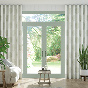 Wave Bay Tree Fennel Wave Curtains thumbnail image