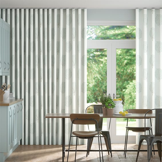 Wave Bay Tree Mineral Curtains