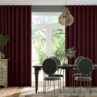 Wave Bijou Linen Grape Wave Curtains thumbnail image