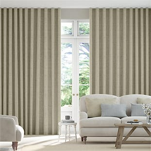 Wave Bijou Linen Latte Wave Curtains thumbnail image