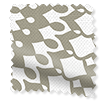 Wave Cadencia Truffle Wave Curtains swatch image