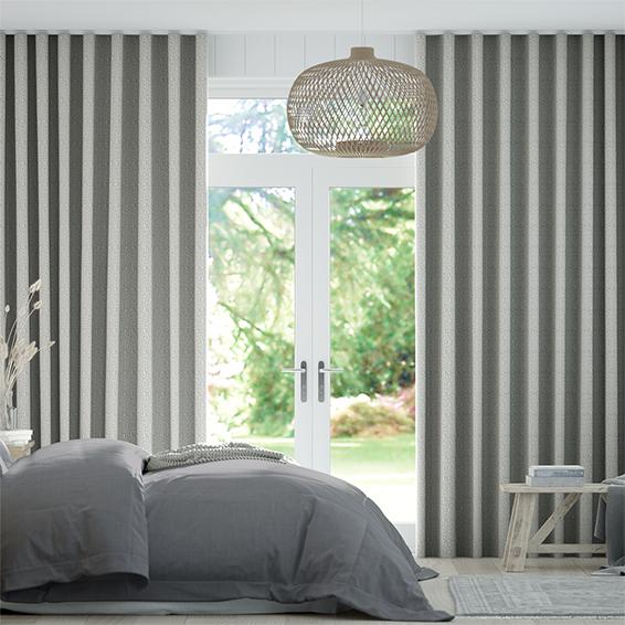 Wave Cassia Mercury Curtains