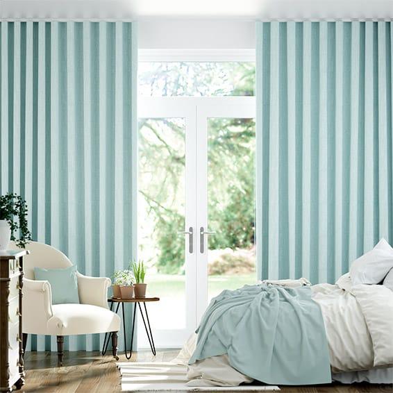Wave Cavendish Spearmint  Curtains