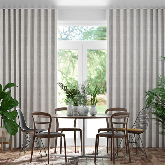 Wave Cotswold Soft Grey Curtains