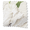 Wave Dancing Tulips Cream Curtains sample image