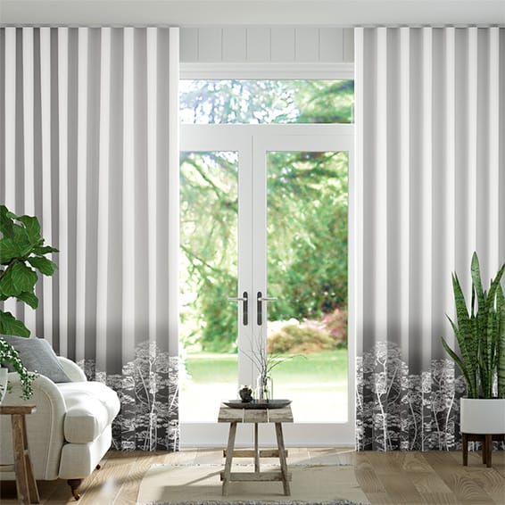Wave Dill Storm Curtains