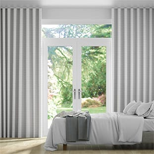 Wave Elision Silver Wave Curtains thumbnail image