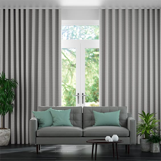 Wave Elision Steel Curtains
