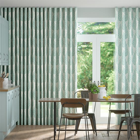 Wave Elm Mineral Curtains
