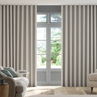 Wave Elodie Dove Grey Wave Curtains thumbnail image