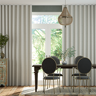 Wave Emin Country Grey Wave Curtains thumbnail image