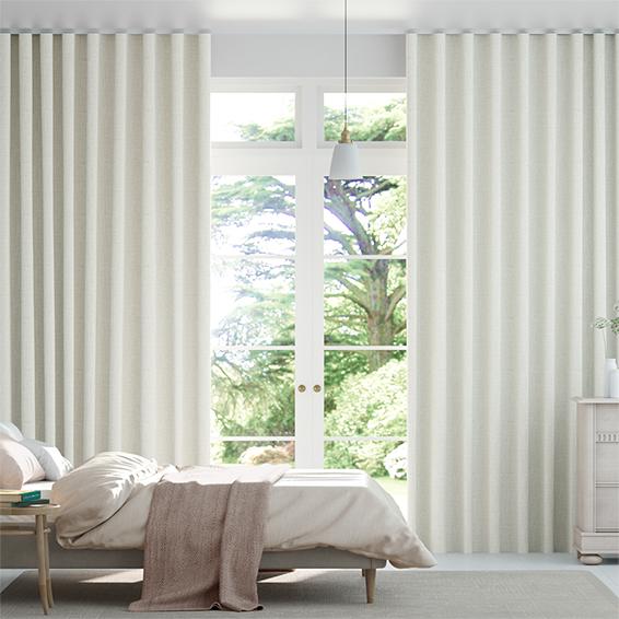 Wave Encanto Shimmering Platinum Curtains
