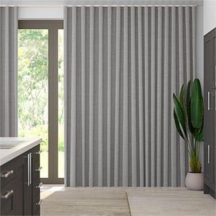 Wave Dupioni Faux Silk Platinum thumbnail image