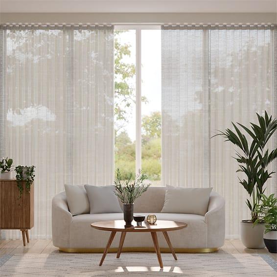Wave Paraiso Voile Steel Curtains