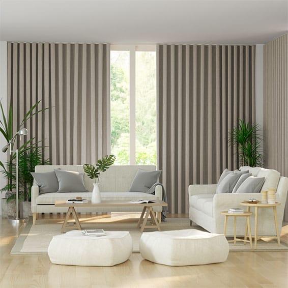 Wave Pure Linen Curtains