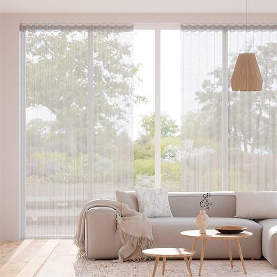 Wave Verbier Voile Fog Curtains