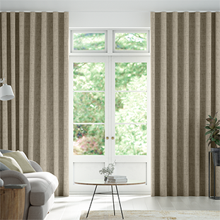 Wave Haverford Oatmeal Wave Curtains thumbnail image