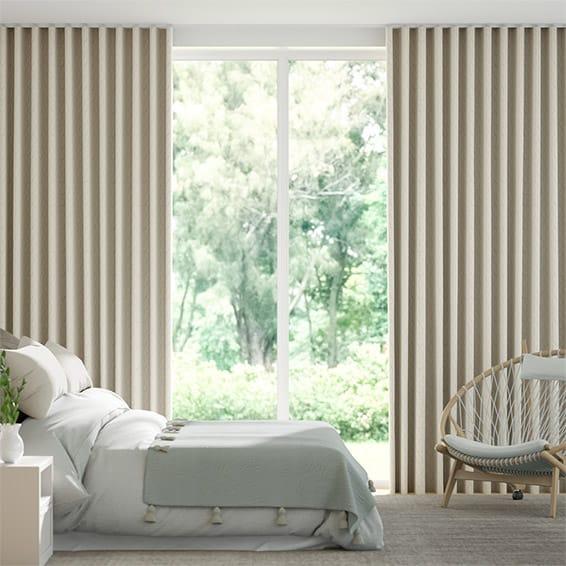Wave Jinli Bronze  Curtains