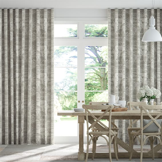 Wave Kinabalu Silver Curtains