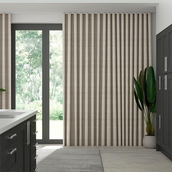 Wave Kosa Gilt Curtains