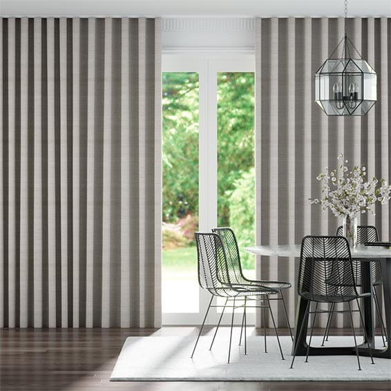 Wave Kosa Palladium Curtains