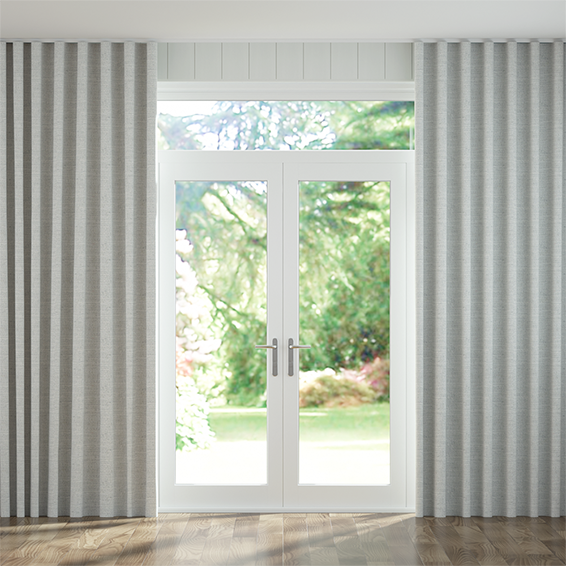 Wave Lanura Misty Blue  Curtains