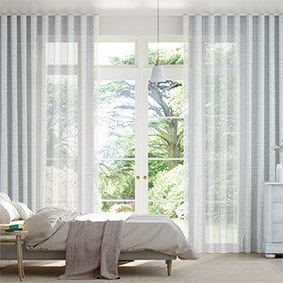 Wave Lucid Voile White Wave Curtains thumbnail image