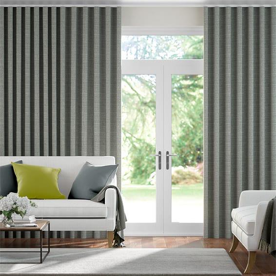 Wave Mallay Driftwood Curtains