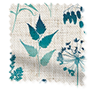 Wave Meadow Teal Wave Curtains swatch image