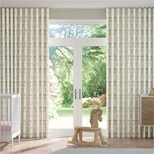 Wave Merry Go Blossom Wave Curtains thumbnail image