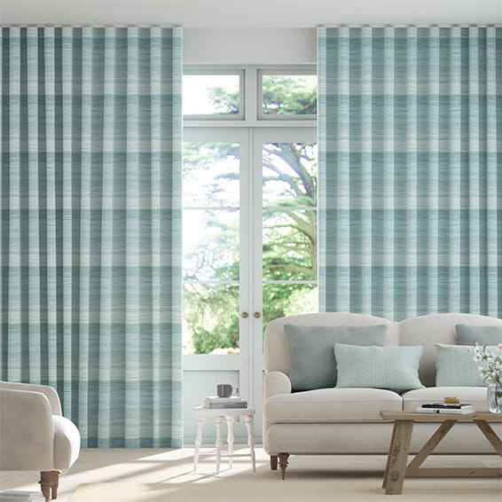 Wave Metamorphic Azurite Curtains