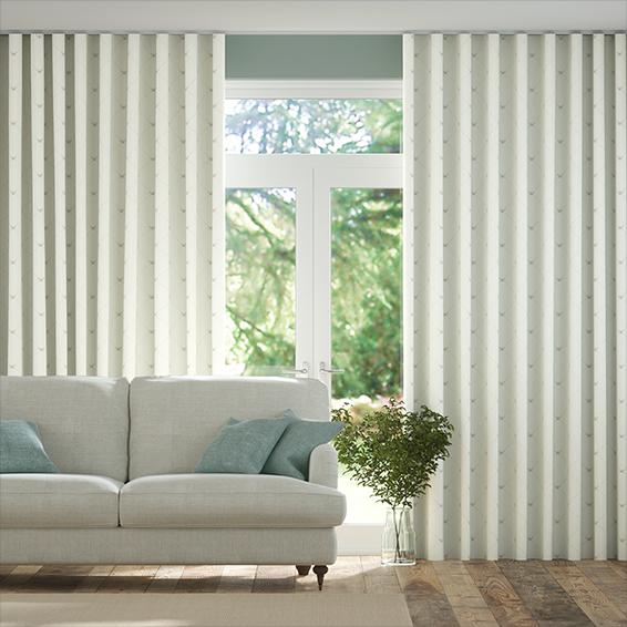 Wave Nectar Honey Curtains