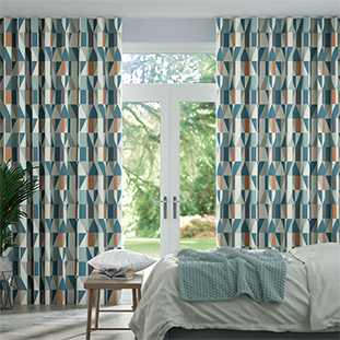 Wave Nuevo Sapphire Wave Curtains thumbnail image