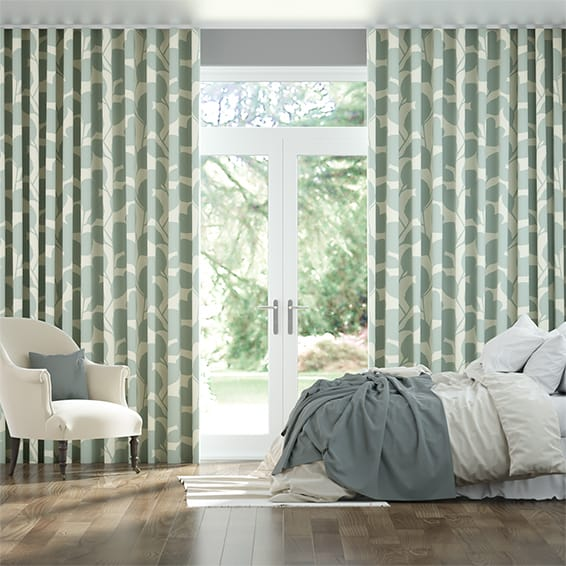 Wave Ocotillo Mist Curtains
