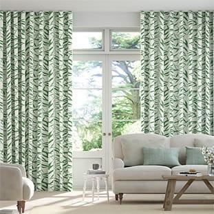Wave Olmeca Eucalyptus Wave Curtains thumbnail image