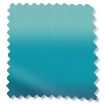Wave Ombre Teal Curtains sample image