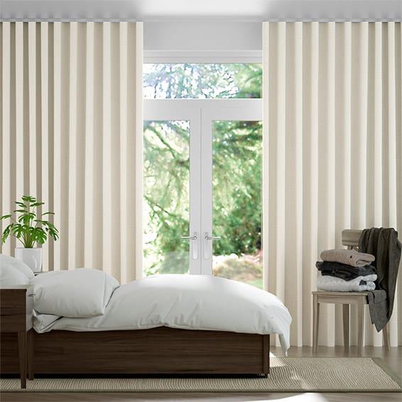 Wave Penrith Cream Curtains