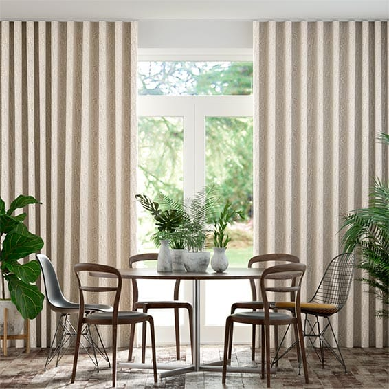 Wave Perseus Pale Granite Curtains