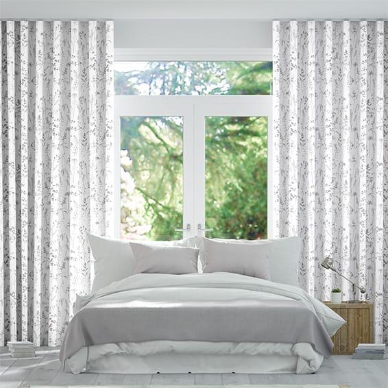 Wave Prairie Heather Curtains