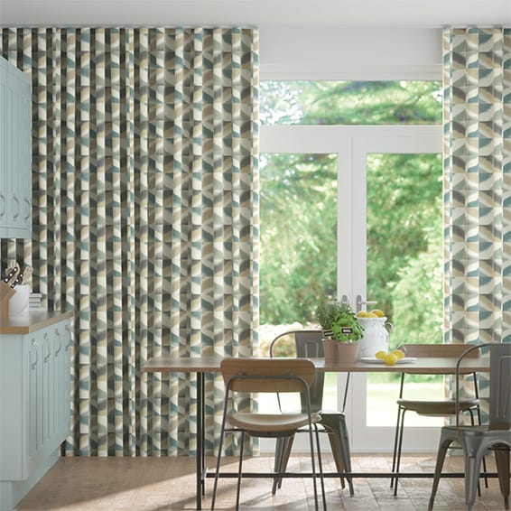 Wave Quadro Mist Curtains