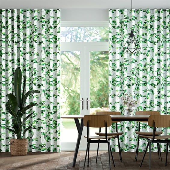 Wave Rainforest Moss Curtains