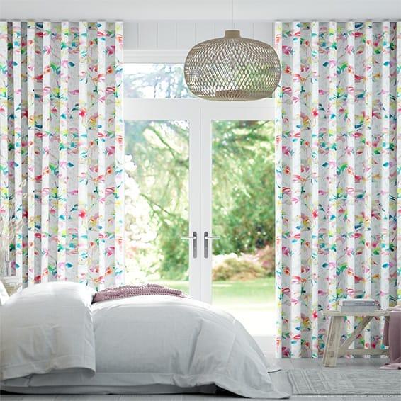 Wave Rainforest Rainbow Curtains