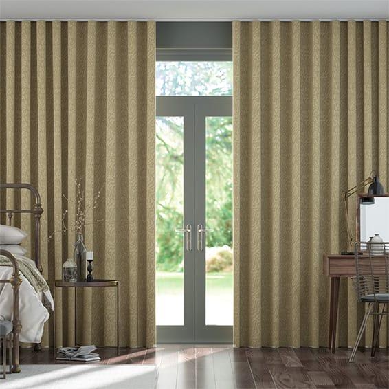 Wave Seduire Sandstone Curtains